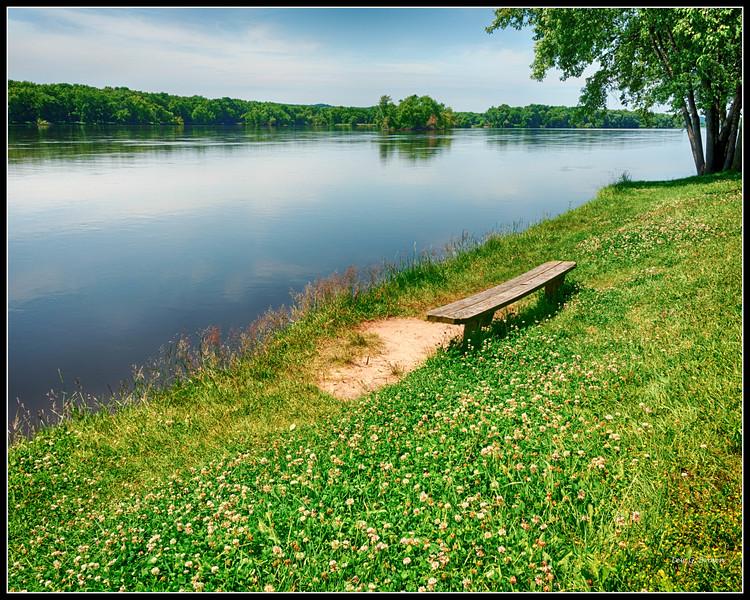 Missouri River View.
