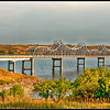 Bridge on South Dakota 212 over Lake Oahe on the Missouri River