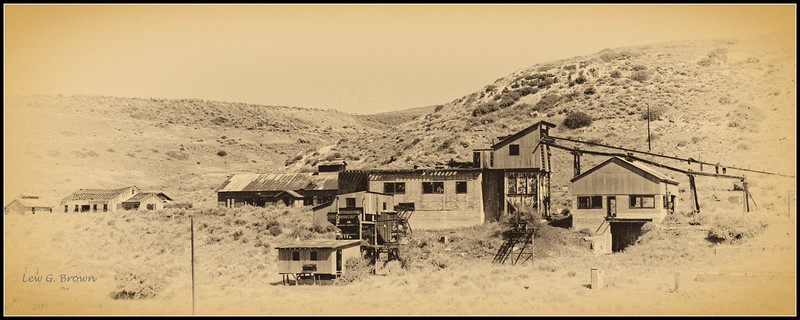 Smith Coal Mine #3, near Bearcreek, Montana.  Site of disaster that killed 74 miners in 1943.