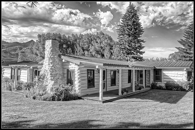 Original home of Buffalo Bill Cody, on ranch in Cody, Wyoming