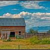 Barn near Helena, Montana.