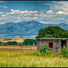 Abandoned farmhouse near Helena, Montana