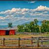 Montana view and silo.