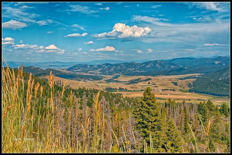 View 2 - MacDonald Pass.