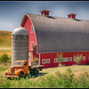 Palouse Barn and Truck