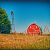 Barn and Windmill - Palouse