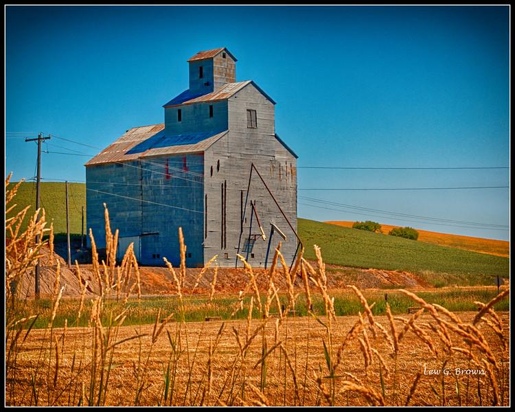 Old Grain Elevator - Palouse