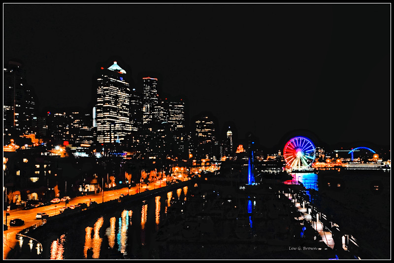 Seattle Waterfront looking south