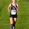 Pendleton Heights' Alex Buck leads the girls' cross country sectional at Pendleton Heights on Tuesday.