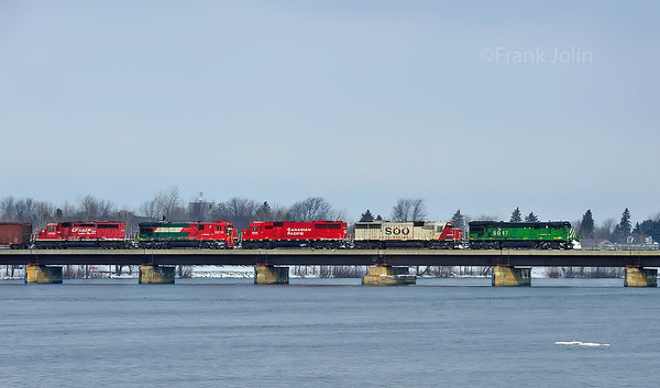 Montreal Maine & Atlantic, Crude Oil Train, St-Jean Qc