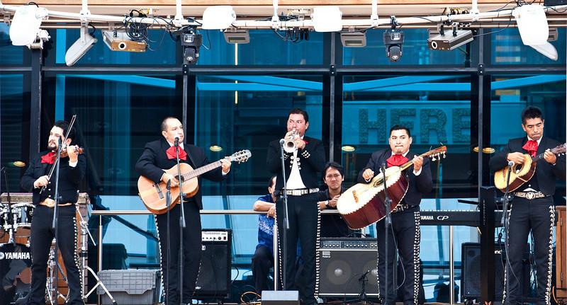 Mariachi Band aboard Equinox