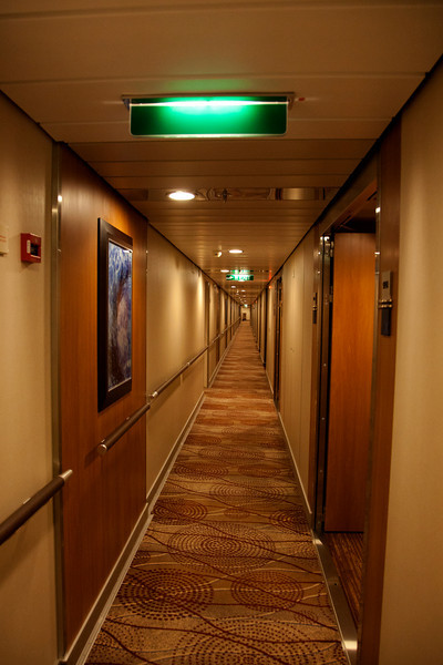 Celebrity hallway