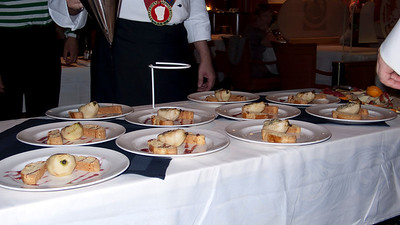 Chef's table cruise ship