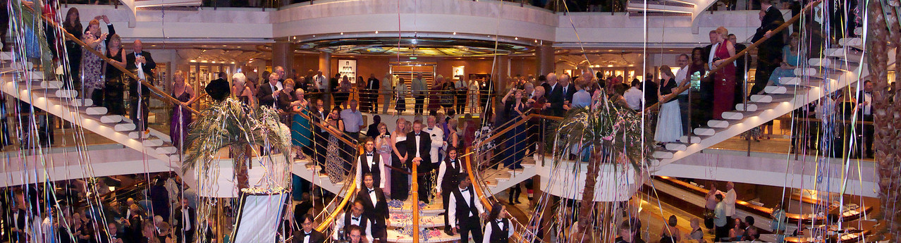 Formal Night Party cruise ship