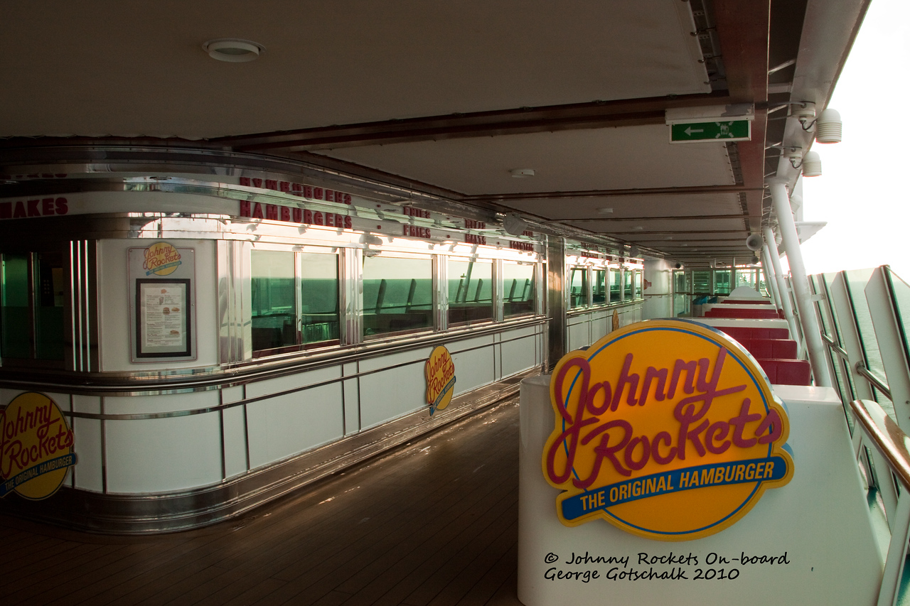 Freedom of the Seas Johnny Rockets