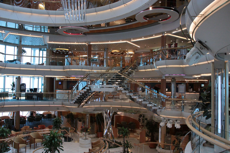 Enchantment of the Seas Broad view atrium