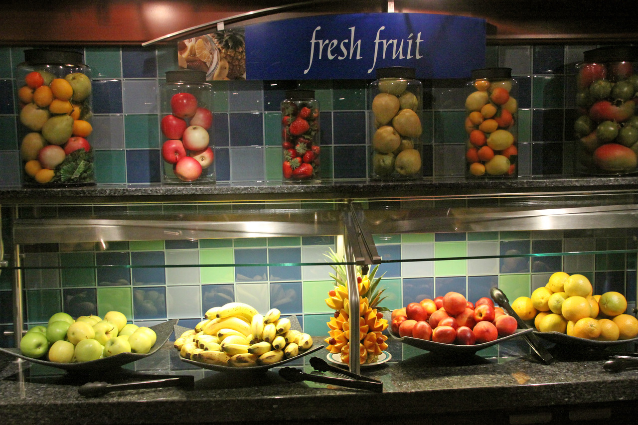 Enchantment of the Seas Windjammer fruit bar