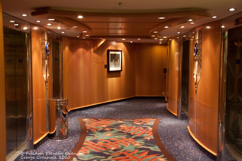 Freedom Elevator hall