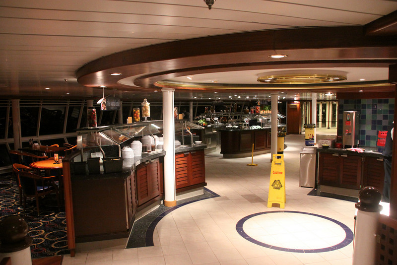 Enchantment of the Seas Windjammer dining