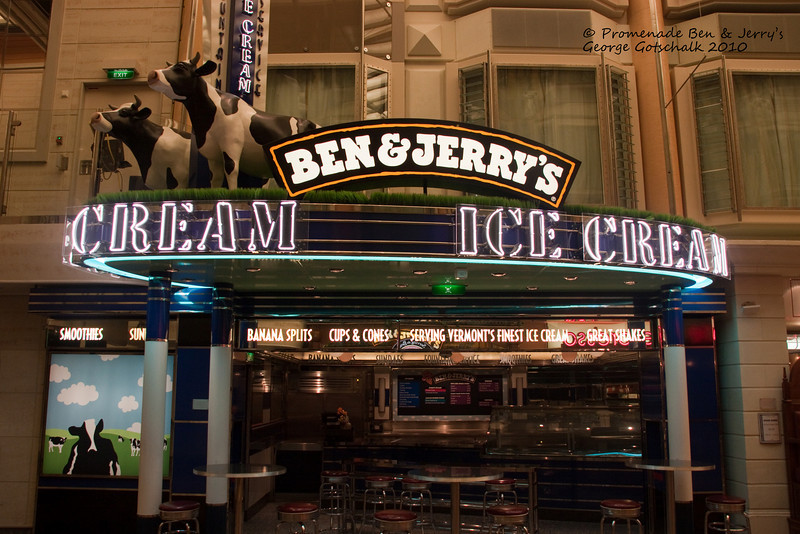 Freedom of the Seas Ben and Jerry's