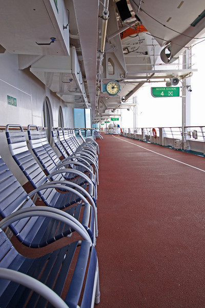 Enchantment of the Seas Deck five seating and enjoyment area