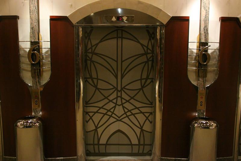 Enchantment of the Seas Simple elevator door
