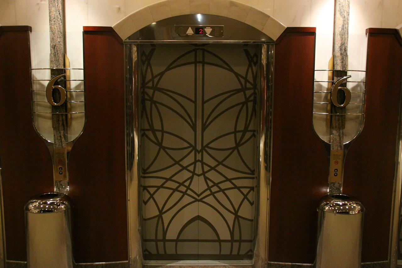Enchantment of the Seas Simple elevator door