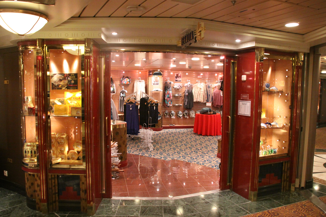 Enchantment of the Seas One of the 5th floor shops