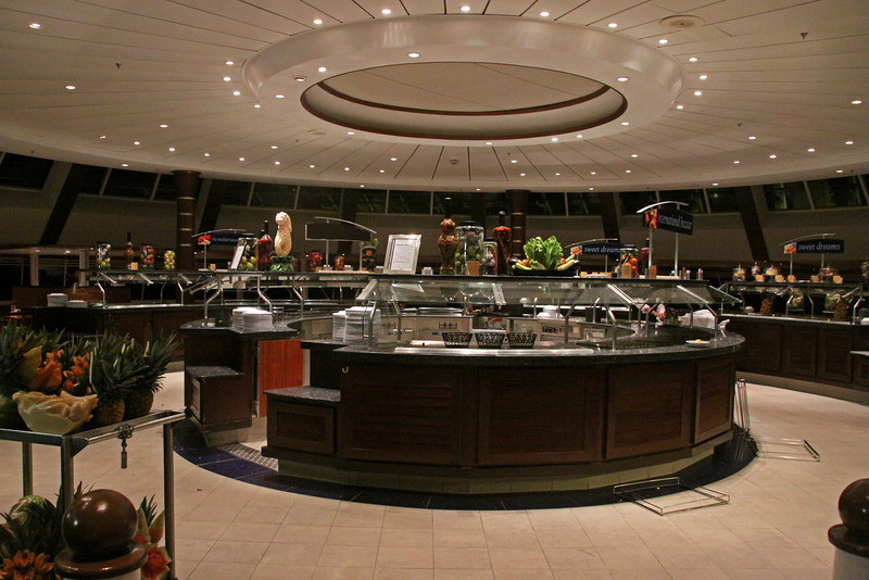 Enchantment of the Seas Main buffet area in the Windjammer