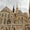 Rear view of Matthias Church.