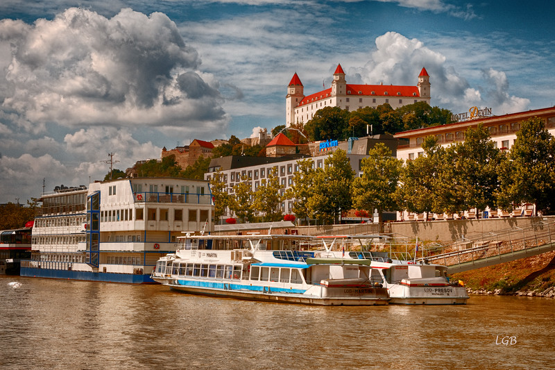 Next stop Bratislava, capital of Slovakia