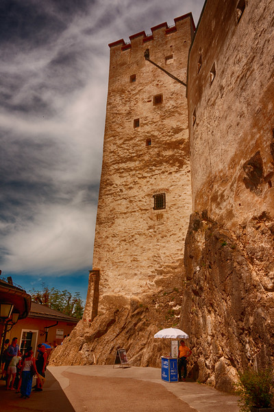 Another castle tower.
