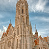 Matthias Church on Castle Hill, front view.