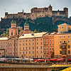 Hohensalzburg Fortress.  One of the largesst castles in Europe.  1077 AD.