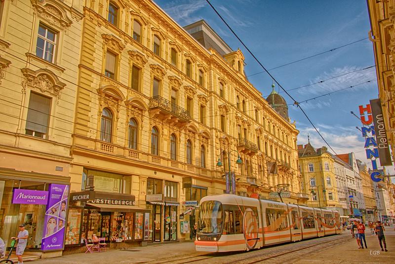 Linz transportation.