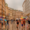 Vienna street scene.