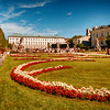"Salzburg, Austria. Gardens at Mirabell Palace. ""Sound of Music"" scenes filmed here."