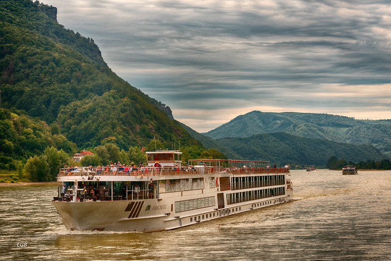 Another cruise boat on the Danube.