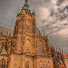 St. Vitus Cathedral, 14th  Century.  On grounds of Prague Palace.
