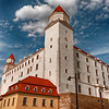 Bratislava Castle, dating from 8th century.  Reconstructed beginning in 1957.