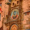 Astronomical Clock.  Apsostles appear in open windows as it chimes.