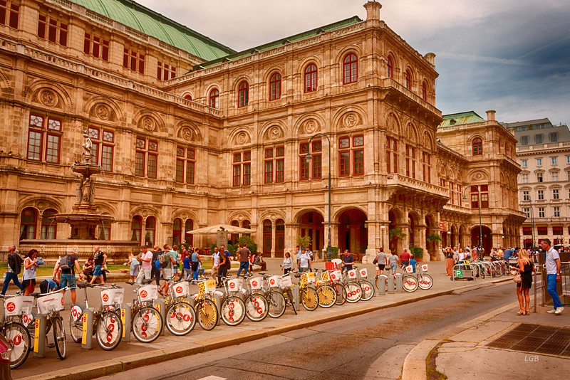 Vienna State Opera House.  Completed in 1869.