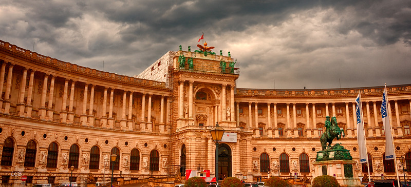 On to Vienna.  Hofburg Imperial Palace.  Dating from 13th Century.
