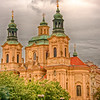 St. Nicholas Church 1704-1755. Best example of Prague Baroque