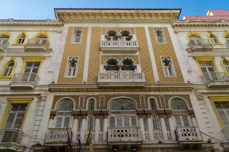 The Hotel Sevilla in Havana
