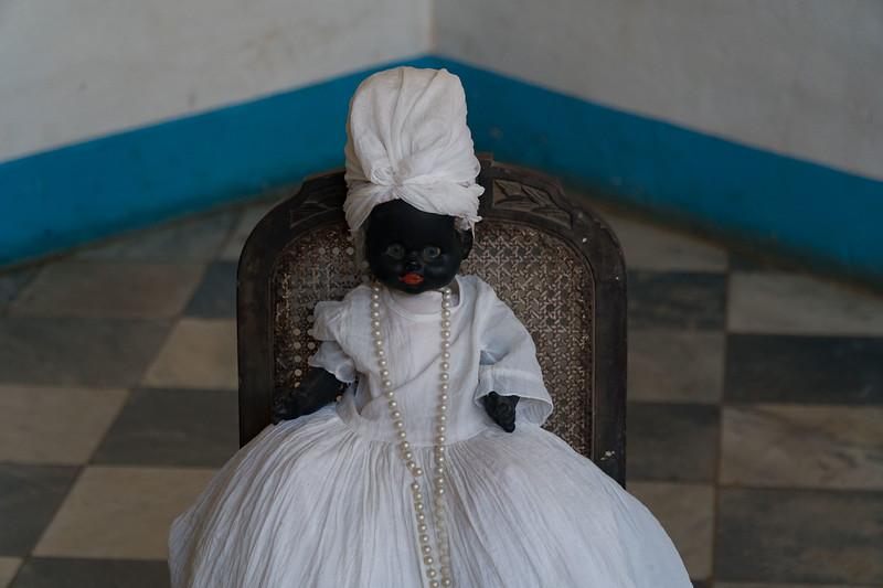 Santeria doll, Trinidad de Cuba