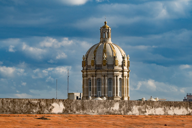 Dome atop the Museum of the Revolution in Havana
