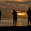 Three fishermen, Havana