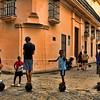 Kids standing on cannon balls, Havana