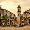 The Plaza de la Catedral, Havana